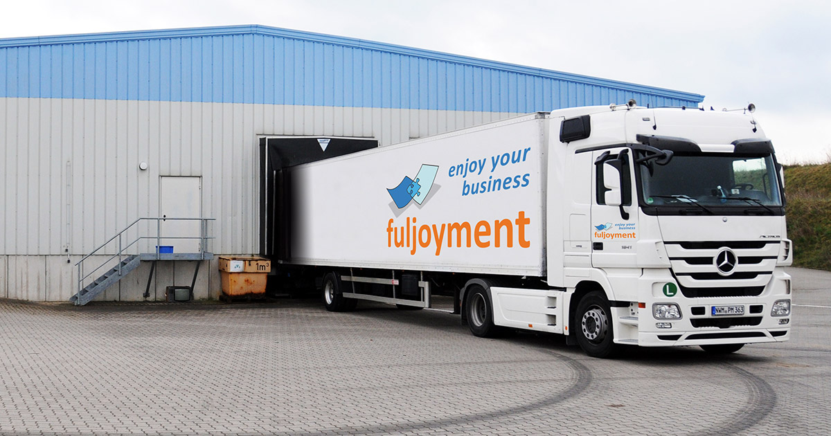 Anlieferung Warenannahme fuljoymentAG