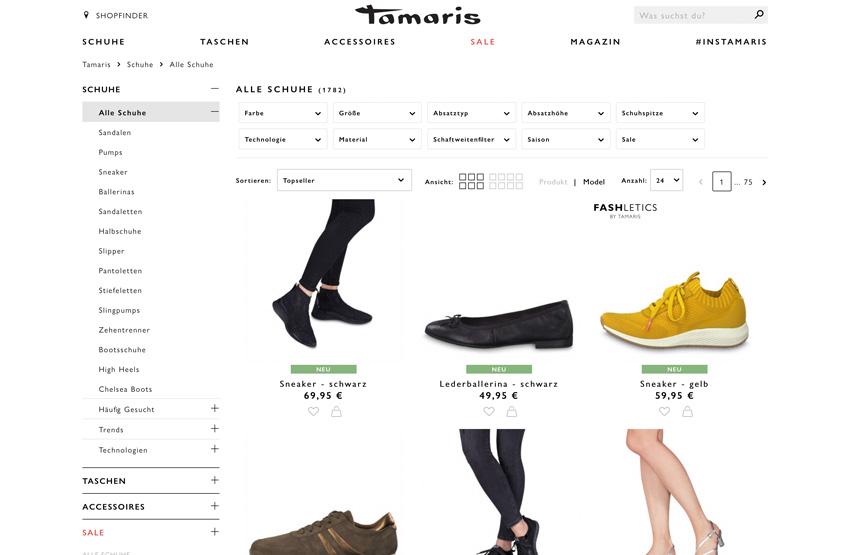 Tamaris.com wird zur Plattform!